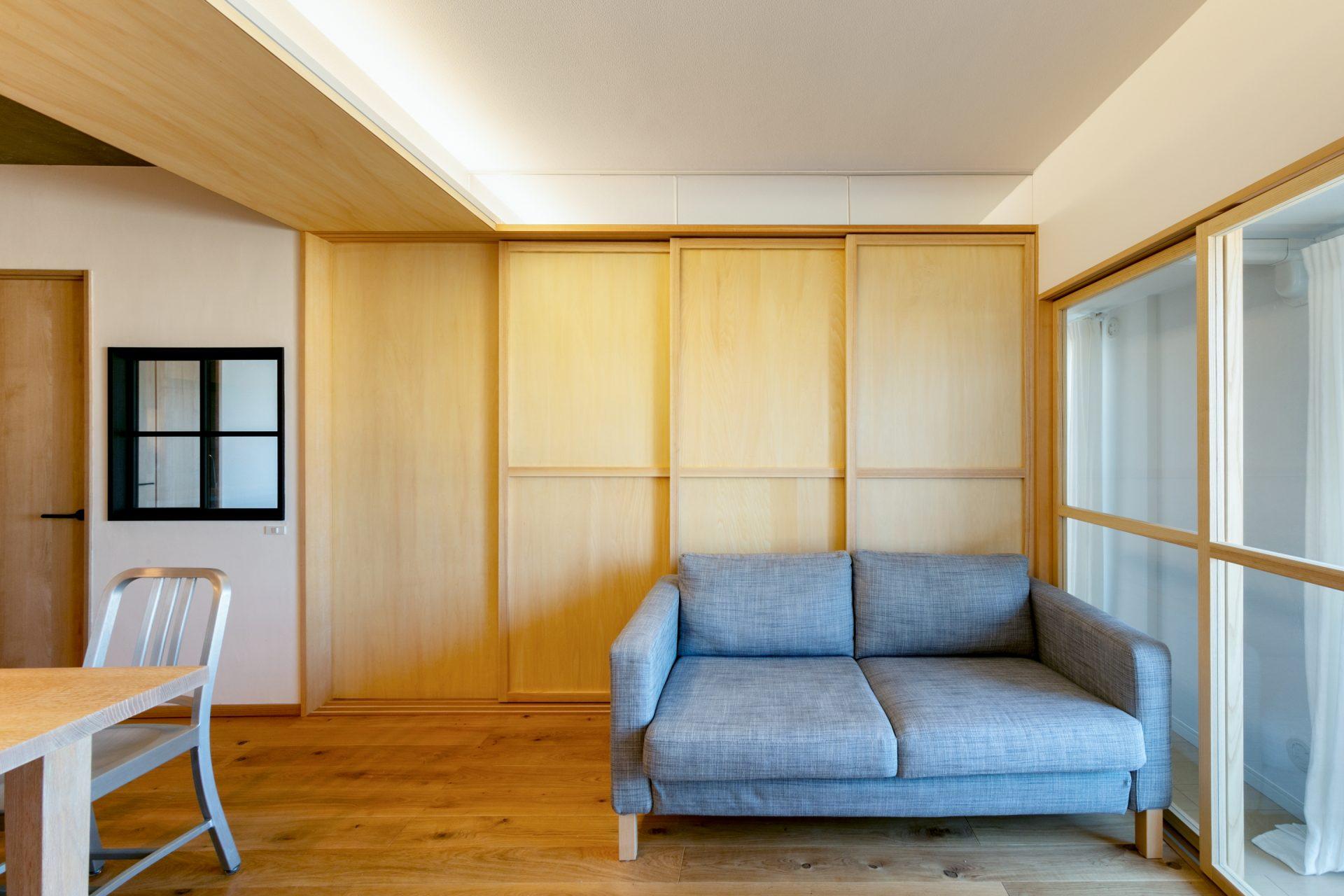 マンションとは思えないマンションフルリノベーション @西宮